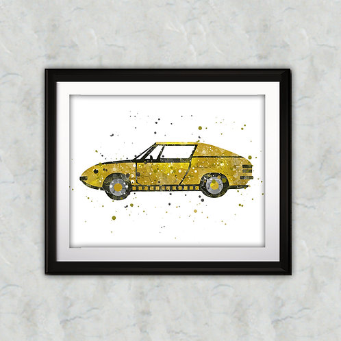 Car Print, Car Print, Transportation Print, Teenager Decor, Printable Car, Vehicle Art, Big Boy Girl Room Decor, Vintage Car