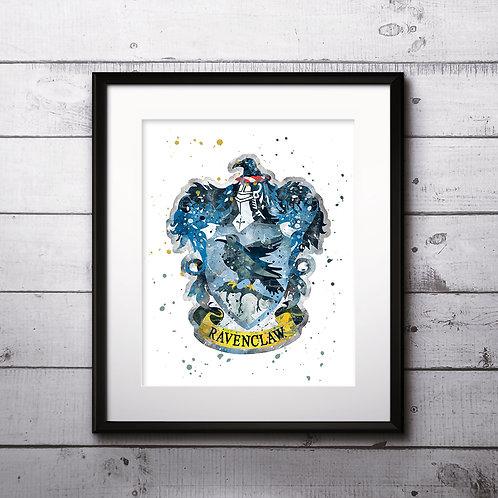 Hogwarts houses Ravenclaw Art Prints Digital Poster Home Decor wall art print buy art
