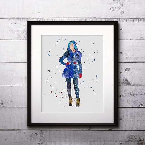 Evie from Descendants 2 Art Prints Digital Poster Home Decor wall art print buy art