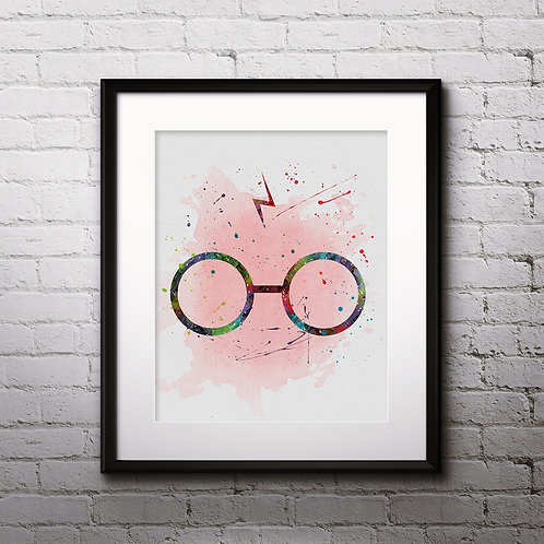 Harry Potter Art, Harry Potter Poster, Harry Potter Painting, Harry Potter Art Print, Harry Potter Wall Art, Harry Potter