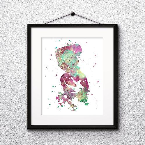 Mulan Disney art prints, disney print, disney painting, disney art, Printable art, Disney Home Decor, Nursery Art