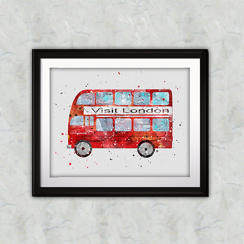 Ikarus Bus Print, Nursery Wall Art, Ikarus Bus Decor, Ikarus Bus, Transportation Wall Art, Ikarus Bus Wall Decor