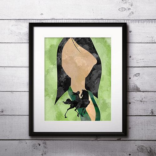 Mulan Disney printables Painting, Mulan art Print, Mulan Poster, Disney wall art, Mulan Disney art, Mulan art