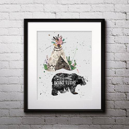 Animals Bohho Art, Bohho Wall Art, Bohho Print, Bohho Poster, Bohho Home Decor, Bohho Painting, Bohho Image