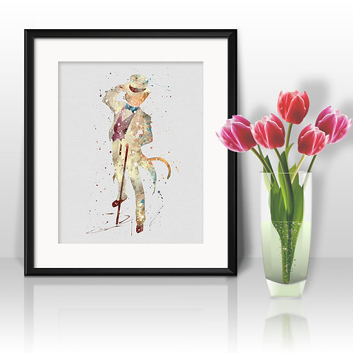 Baron Humbert Anime Watercolor Art, Anime Printable, Anime Print,  Painting, Home Decor, Wall Art Poster, buy poster, buy art