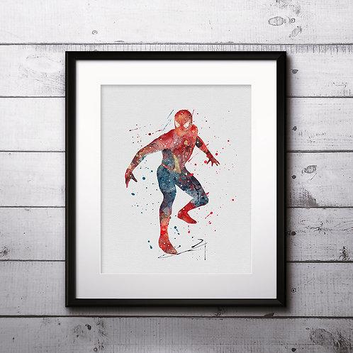 Spiderman Poster, Superhero wall art, Superhero Picture, Superhero art, Superhero print, Superhero decor