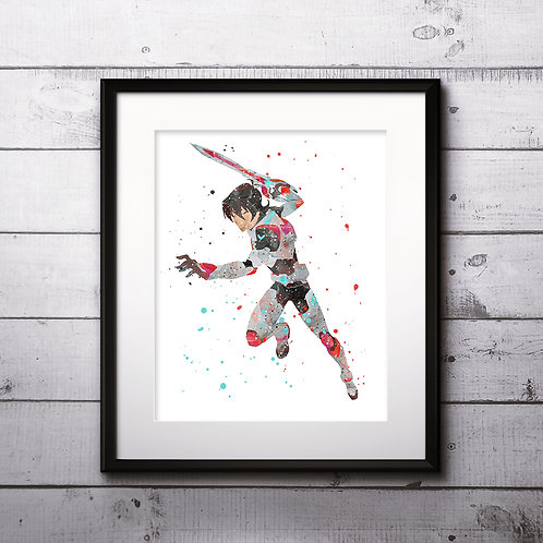 Keith Voltron Art Prints, Posters, Watercolor Art, Wall art, home decor, Printable Art, Art Prints, Painting