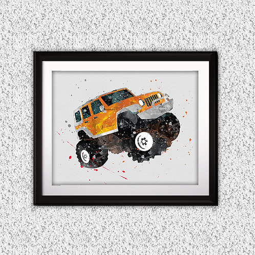 Buggies Jeep Print, Nursery Wall Art, Jeep Decor, Jeep, Transportation Wall Art, Jeep Wall Decor, Nursery