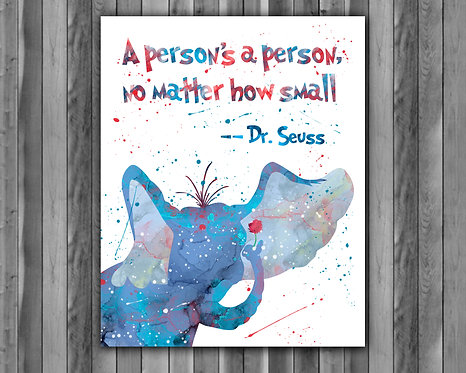 Doctor Seuss Art Prints Doctor Seuss Digital Poster Doctor Seuss Wall art print Home Decor