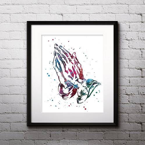 Christian Art Prints, Poster, watercolor, Painting, Art, Wall Art, Home Decor, Printables