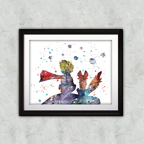 Little Prince Art, Little Prince Poster, Little Prince Painting, Little Prince Art Print, Little Prince wall Art