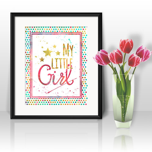 Quote Nursery Art, Children Decor art, Nursery Poster, Nursery Painting, Nursery Art Print, Nursery Wall Art, Digital picture