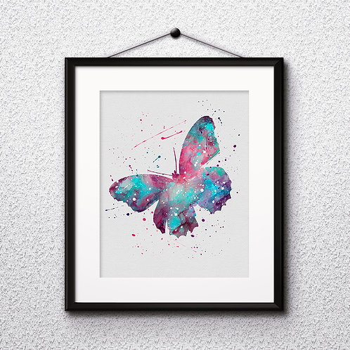 Butterfly art print print, Butterfly Printable, Butterfly watercolor, Butterfly Print, Butterfly, Butterfly Art, painting