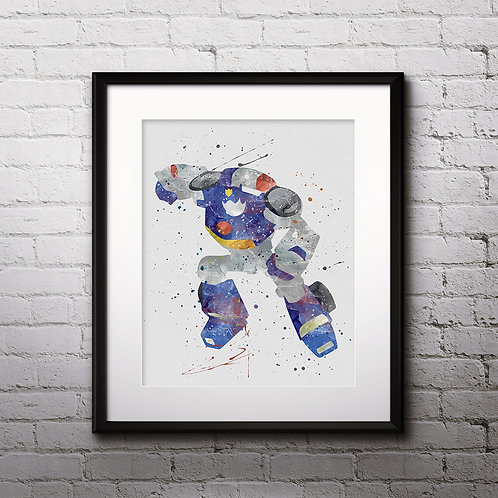 Transformers Chase Bots Print Nursery, buy Poster, buy Watercolor, buy Print, buy  Art, buy Wall Art, Watercolor Nursery Art