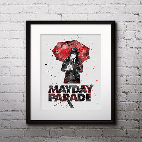 Mayday Parade art, buy Poster, byu Painting, buy Art Print, buy home decor, buy Wall Арт, Digital pictures download