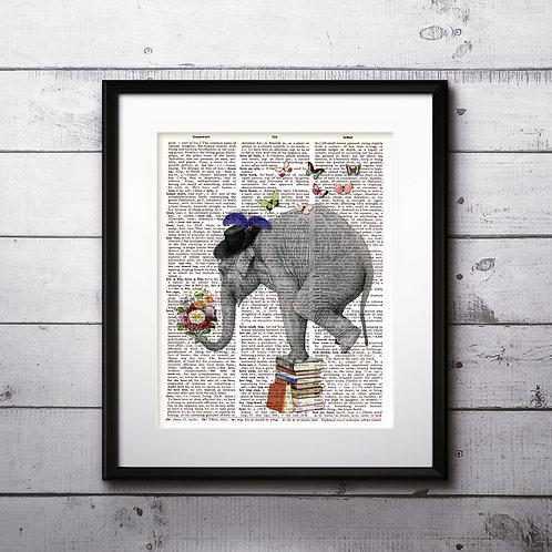 Elephant Wall Art, Elephant Art, Elephant Print, Elephant Poster, Elephant art print, Elephant wall art, Elephant
