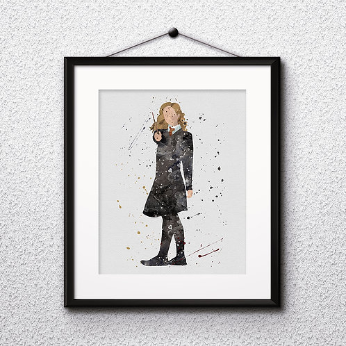 Hermione Harry Potter Art, Harry Potter Poster, Harry Potter Painting, Harry Potter Art Print, Harry Potter Wall Art, Harry