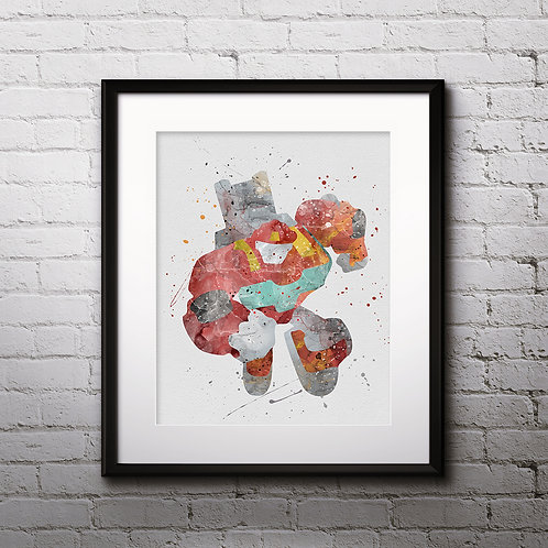 Transformers Heatwave Bots Print Nursery, buy Poster, buy Watercolor, buy Print, buy  Art, buy Wall Art, Home Decor