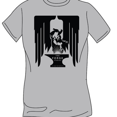 Ice Grey T-Shirt Square Logo