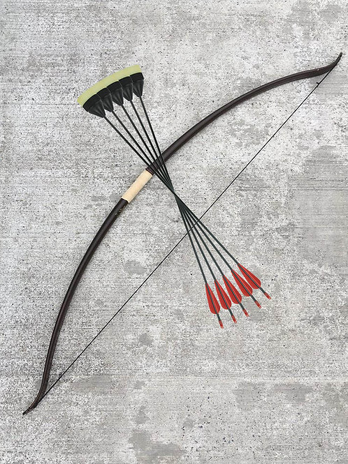 Archer's Kit - Bow & Arrows (5 Pack)