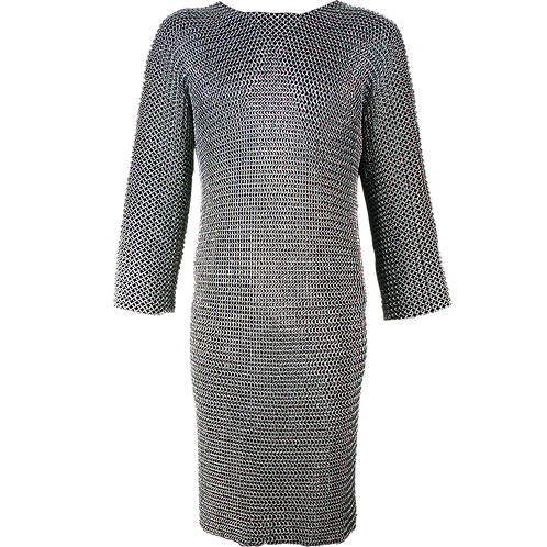 Long Sleeved Butted Chainmail Hauberk