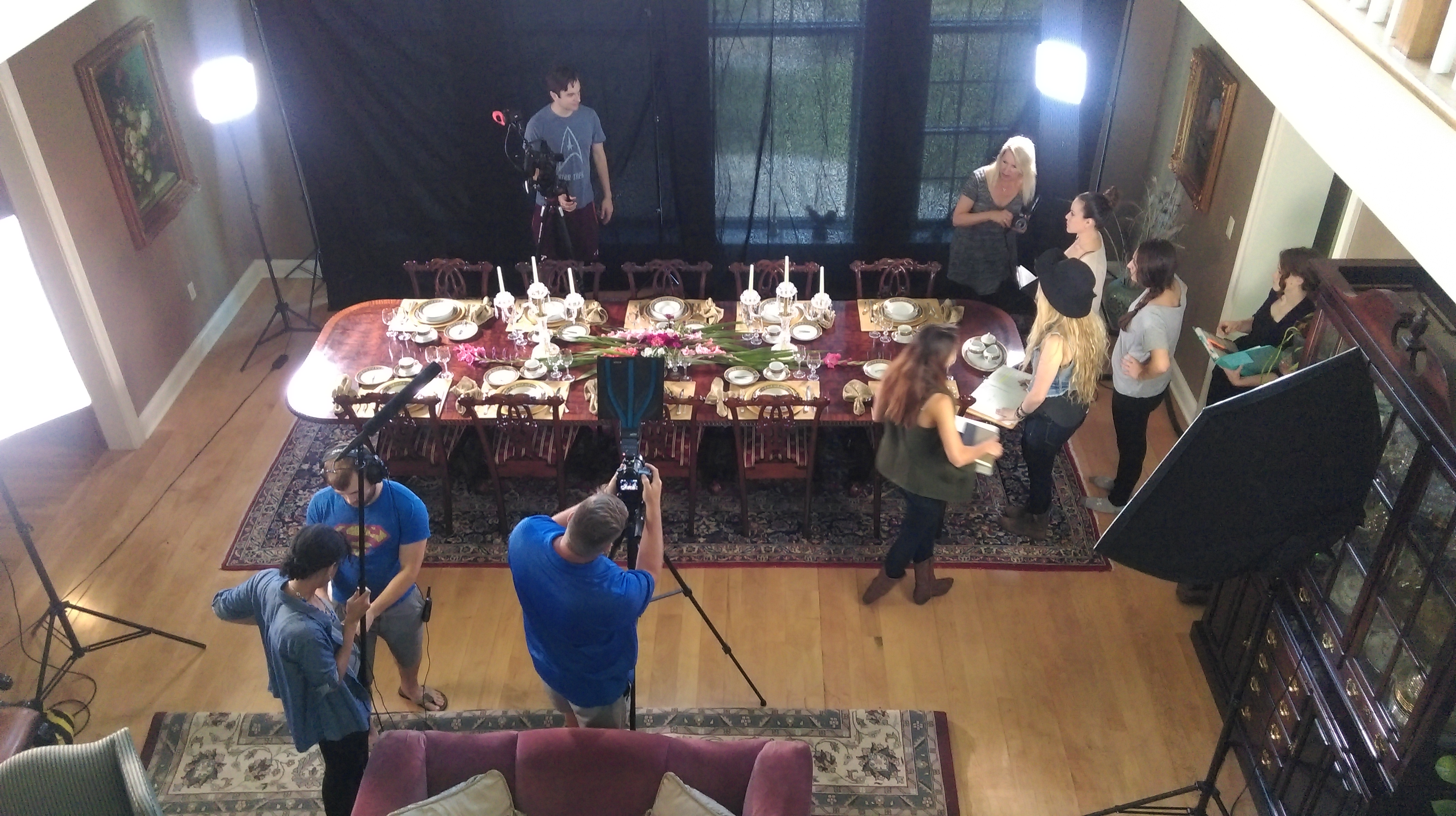 Setting the table & the scene