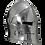 Thumbnail: Polished Visored Barbuta Helmet