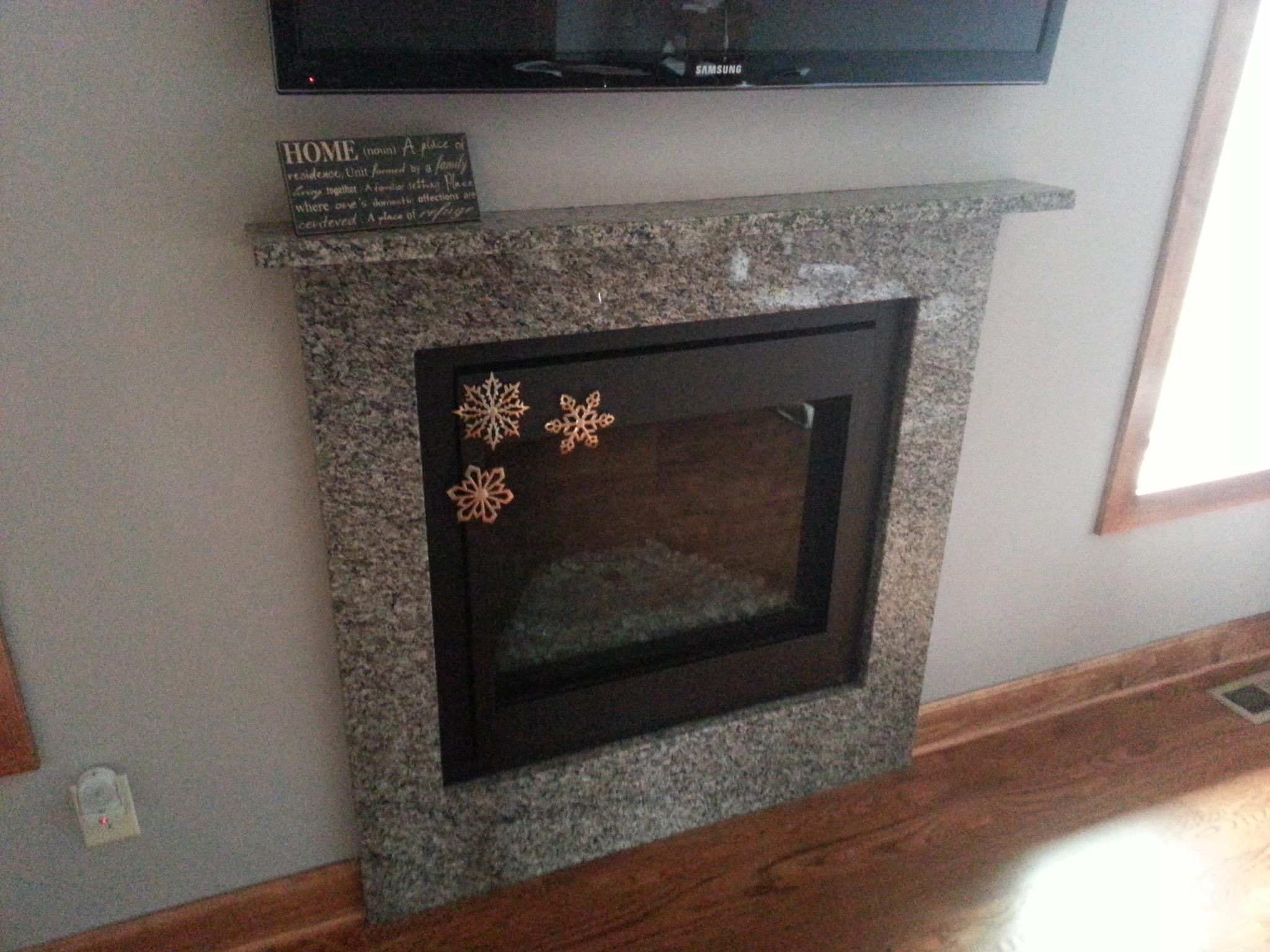 Caledonia Fireplace & Mantel