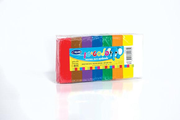 פלסטיגן 5 צבעים 125 גרם