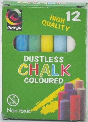 גיר צבעוני 12 יחידות