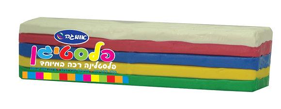 פלסטיגן 5 צבעים 270 גרם