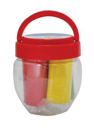 בצק בדלי 4*70 גרם צבעים בסיסיים