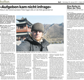 Basler Zeitung, 2011