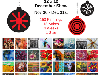 The Salon 12 x 12 December Show