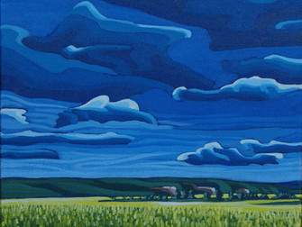 Hurray I have been accepted for the Calgary Stampede Art Gallery & Mini Masterpiece Show
