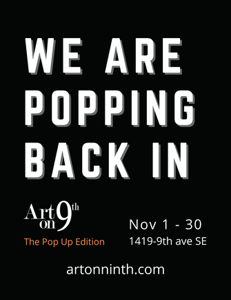 Art on 9th is Popping Back In