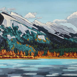 Mount Rundle Fall Fires