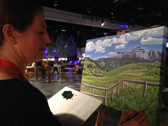 Artist InSitu at Calgary Stampede 2016