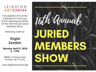 Leighton Art Centre - 16th Annual Juried Members Show