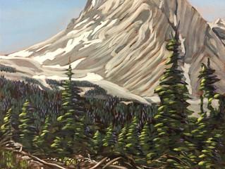 """Snowpeak Mountain Springtime"" Saturday Workshop"