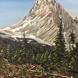 Snowpeak Mountain Springtime