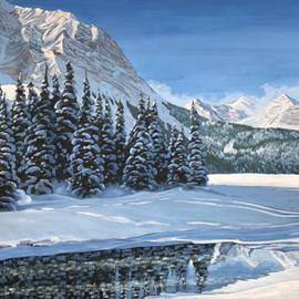 Winter Bliss at Elk Lakes