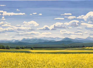"""Alberta Landscape"" Class Series at Paintworks in Okotoks"