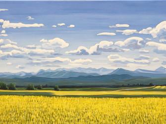 """Alberta Landscape"" Class Series at Paintworks in Okotoks"