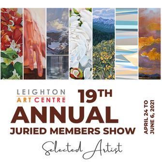 19th Annual Juried members Show - Leighton Art Centre