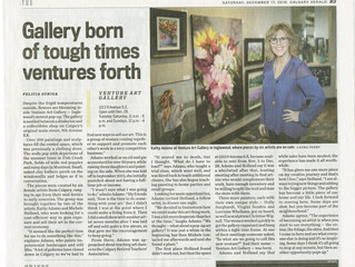 Venture Art Gallery in the News