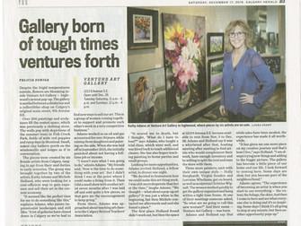 Venture Art Gallery in the News