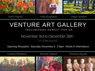 Exciting, Gorgeous Art come join us at VENTURE ART GALLERY