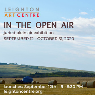 """""""In The Open Air"""" Show at Leighton Centre"""