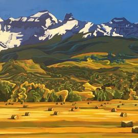 Hay Season in the Foothills